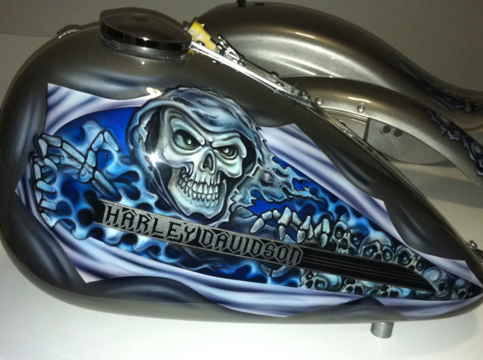 Spray Paint Ideas For Motorcycles